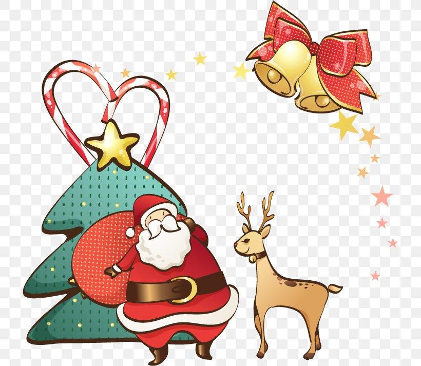Ded Moroz Snegurochka Santa Claus Reindeer Christmas, PNG, 732x713px, Ded Moroz, Christmas, Christmas And Holiday Season, Christmas Decoration, Christmas Ornament Download Free