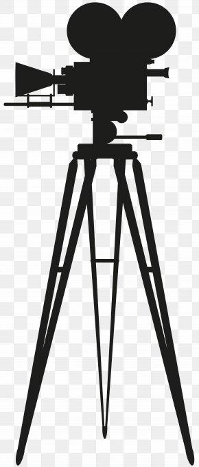Watercolor Camera - Photographic Film Camera Cinema Clip Art PNG