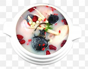 Ginseng Chicken Soup - Samgye-tang Chicken Soup Asian Ginseng PNG
