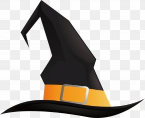 Black Wizard Hat - Witch Hat Halloween Pointed Hat PNG