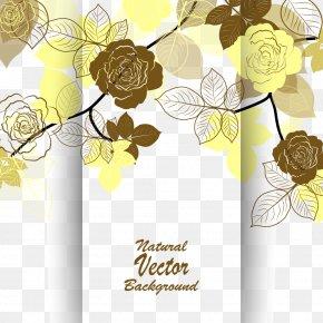 Flowers Invitations Vector - Wedding Invitation Flower Euclidean Vector Beach Rose PNG