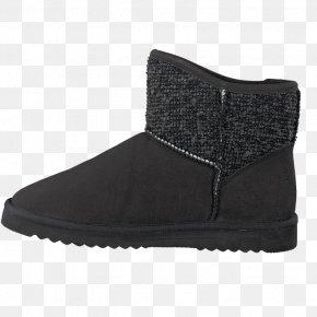 Boot - Snow Boot Shoe Walking Black M PNG