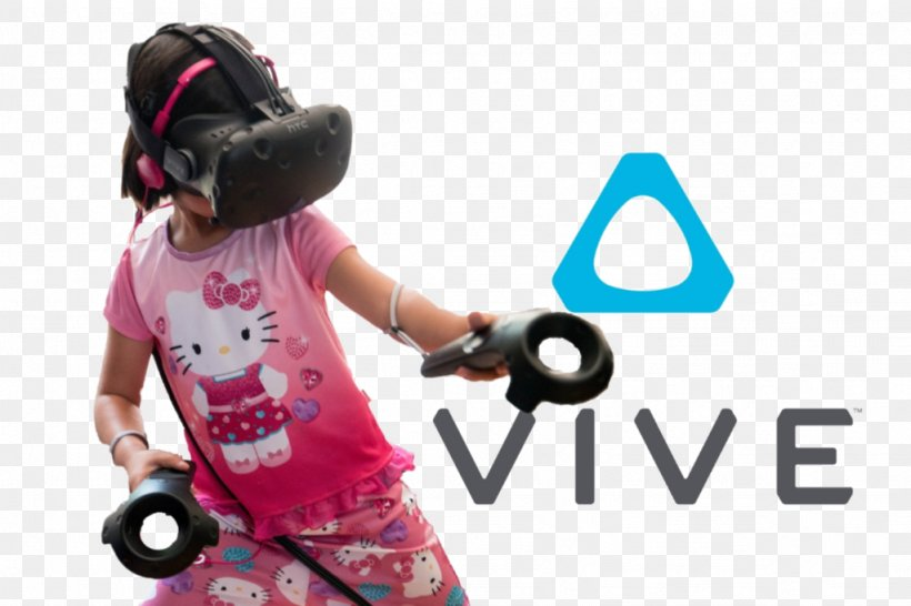 HTC Vive Oculus Rift Head-mounted Display Virtual Reality Headset, PNG, 1024x682px, Htc Vive, Augmented Reality, Child, Google Daydream, Headgear Download Free