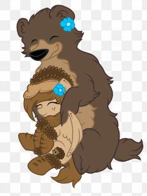 Bear Hug Clipart - Bear Hug Cartoon Bear Hug Clip Art PNG