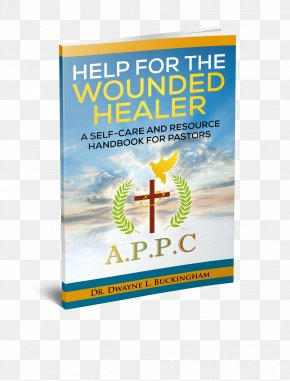 Self Help - Help For The Wounded Healer: A Self-Care And Resource Handbook For Pastors Advertising Brand Water PNG