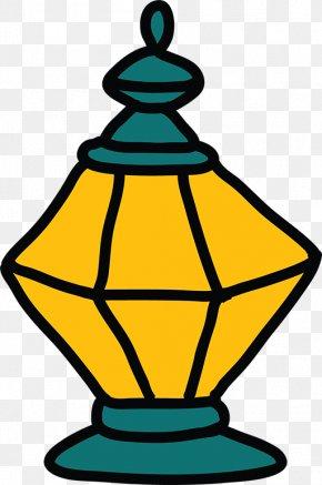 Stick Figure Small Table Lamp - Ramadan Islam Clip Art PNG