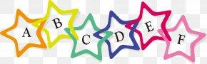 Vector Stars Trim Tabs - Euclidean Vector Pentagram PNG
