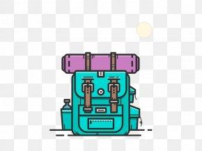 Backpack - Backpack Cartoon Illustration PNG
