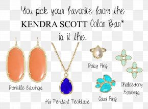 Kendra Scott - Turquoise Earring Body Jewellery Teal PNG
