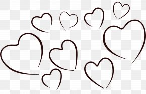 Black And White Heart Images - Heart Black And White Clip Art PNG