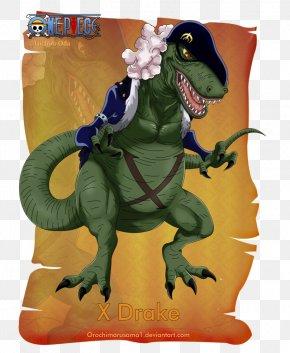 Drake Art - One Piece Donquixote Doflamingo Kuzan Dracule Mihawk Monkey D. Luffy PNG