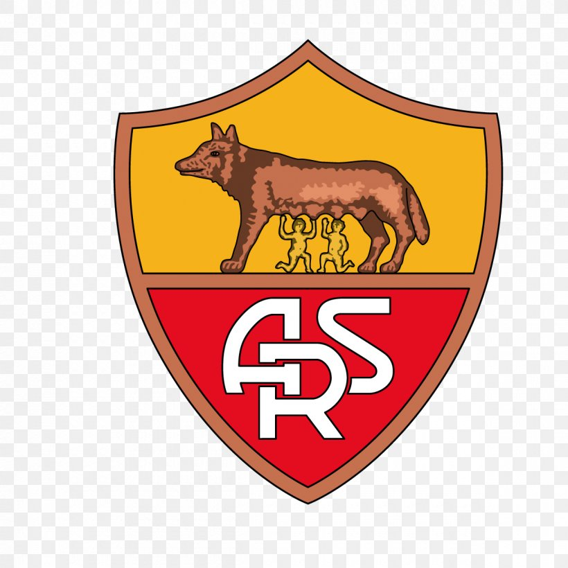 A S Roma Logo Rome Png 1200x1200px As Roma Badge Brand Cattle Like Mammal Cdr Download Free