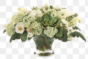 Decorative Floral Bouquets Bottles - Floral Design Flower Bouquet Glass Bottle PNG