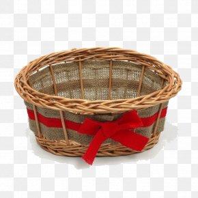 Empty Easter Basket Transparent - Gift Basket Hamper PNG