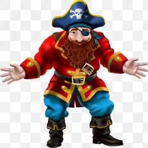 Pirate Captain - Piracy Sticker Privateer Freebooter Adhesive PNG