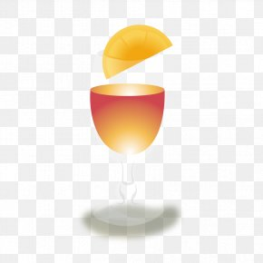 Champagne - Champagne Cocktail Garnish Wine Glass PNG
