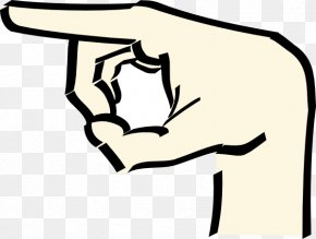 Pointing Finger Clipart - Index Pointing Hand Clip Art PNG