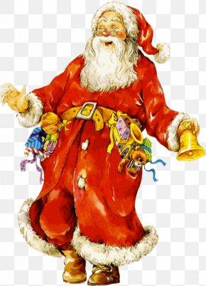Santa Claus - Santa Claus Christmas New Year Clip Art PNG