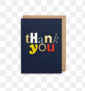 Thank You Card - Typography Calligraphy Typeface Synonyms And Antonyms Font PNG