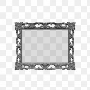 Wood Frame - Picture Frames Rectangle White Pattern PNG