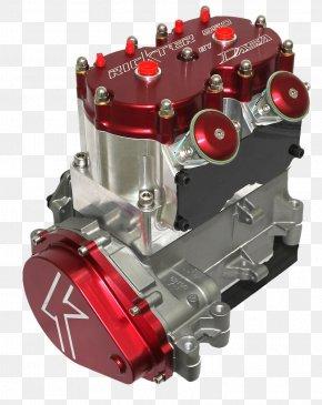 Engine - Engine Crankcase Cylinder Stroker Kit Two-stroke Power Valve System PNG