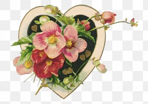 Valentine's Day - Valentine's Day Paper Garden Roses Wallpaper PNG