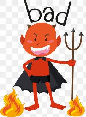 Evil Demon - Royalty-free Illustration PNG