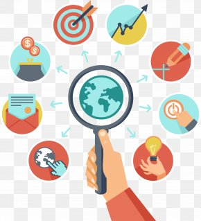 Flat Target Search - Search Engine Optimization Strategy Business PNG