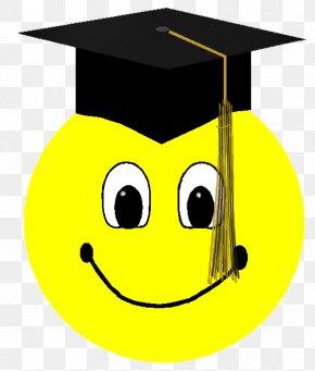 Graduation Stars Cliparts - Smiley Graduation Ceremony Emoticon Clip Art PNG