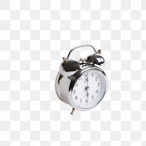 Metal Alarm Clock - Tea Breakfast High-definition Television Wallpaper PNG