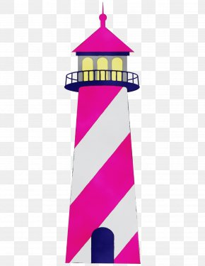 Magenta Pink - Lighthouse Tower Pink Magenta PNG