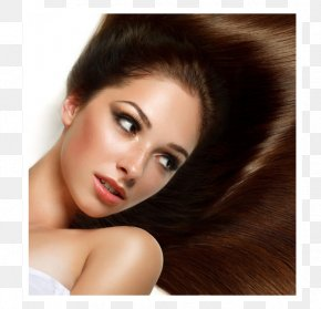 Beauty Parlour Certificate - Long Hair Beauty Parlour Brown Hair Cosmetologist PNG