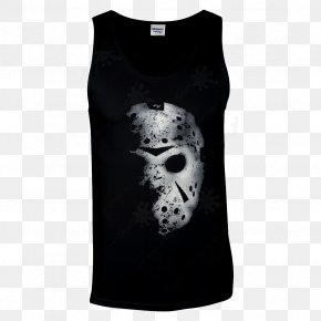 Jason Voorhees - T-shirt Jason Voorhees Goaltender Mask Friday The 13th PNG