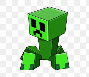 Creeper Transparent Background - Minecraft Roblox Call Of Duty: Ghosts Fallout Art PNG