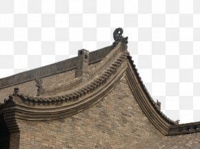 Brick House Ridge - Roof Architecture PNG