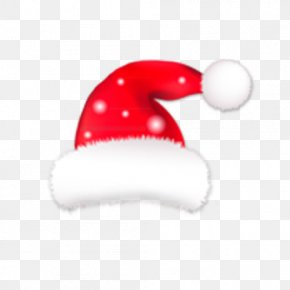 Christmas Hat Decoration - Santa Claus Christmas Hat Bonnet PNG