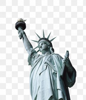 USA Statue Of Liberty - Statue Of Liberty New York Harbor PNG