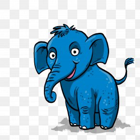 Vector Like A Baby - African Elephant Indian Elephant Clip Art PNG