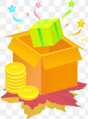 Cartoon Decorative Box - Cartoon Illustration PNG