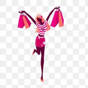 Hand-painted Women Joy - Fashion Idea Clothing Name Shopping PNG