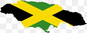 Jamaica - Flag Of Jamaica Map National Flag PNG