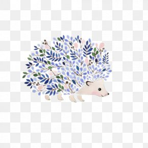 Hedgehog - Hedgehog Drawing Visual Arts Watercolor Painting Illustration PNG