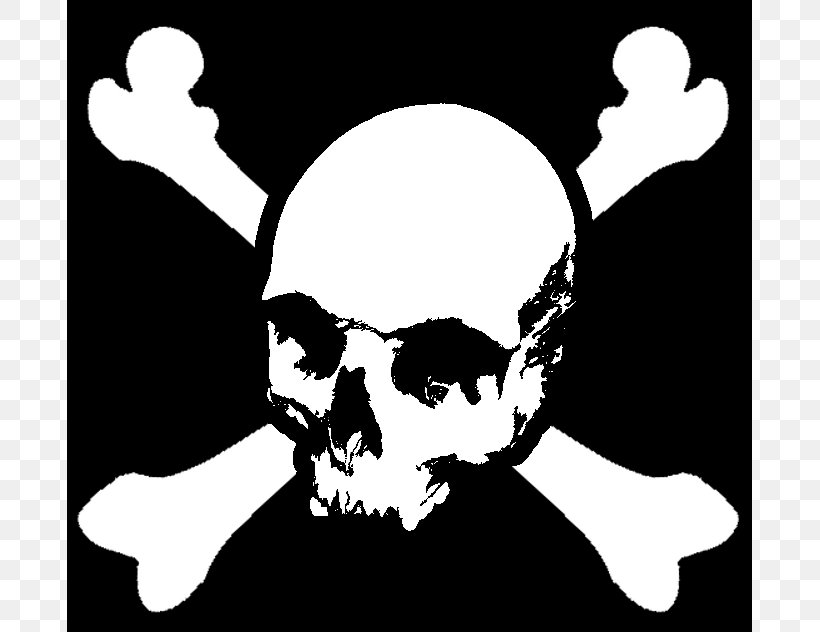 Monkey D. Luffy Shanks Piracy Jolly Roger Stencil, PNG, 685x632px, Monkey D Luffy, Art, Black And White, Bone, Calico Jack Download Free