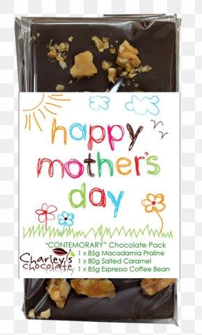 Mother's Day Specials - Dark Chocolate Trinitario Cocoa Bean Praline PNG