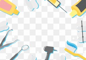 Dental Clinic Background Border - Dentistry Tooth Decay Icon PNG