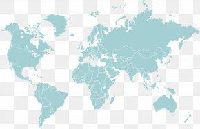 World Map - World Map Globe PNG