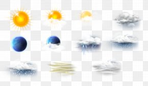 Weather Illustration - Weather Rain Icon PNG