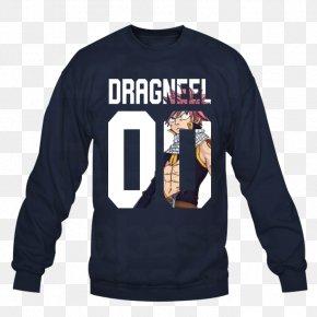 T-shirt - Long-sleeved T-shirt Hoodie Natsu Dragneel PNG