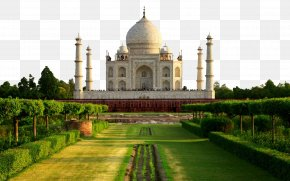 Taj Mahal, India Building Eight - Taj Mahal Agra Fort Fatehpur Sikri Delhi New7Wonders Of The World PNG