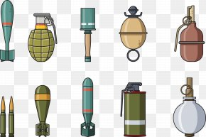 Military Weapons - Euclidean Vector Download Icon PNG